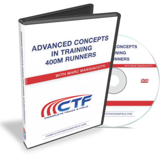 Grab Your Copy Of Marc Mangiacotti S Advanced Concepts In Training 400m Runners Program For Only 149 00 99 Save 50 When You Order Today