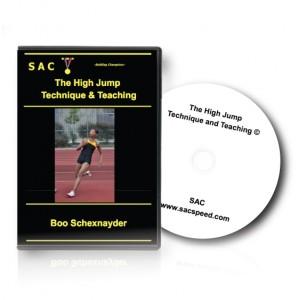 Schexnayder TechniqueTeachHighJump DVD Complete T&T Jumps 5 DVD
