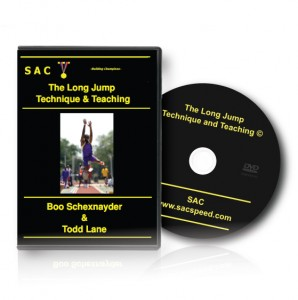 Schexnayder TechniqueTeachLongJump DVD Long Jump DVD