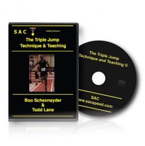 Schexnayder TechniqueTeachTripleJump DVD Complete T&T Jumps 5 DVD