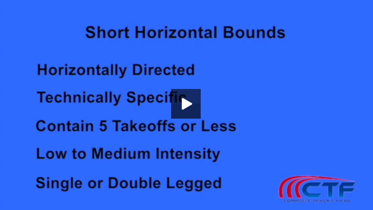 short horizontal bounds