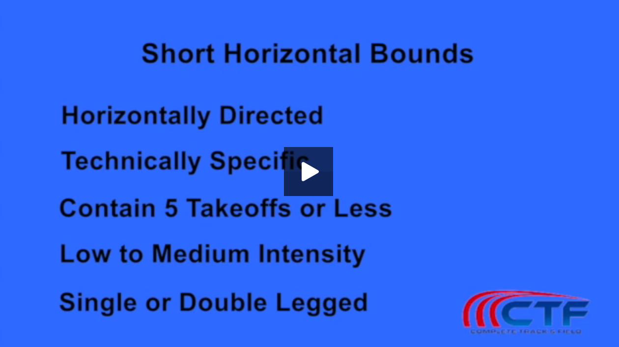short horizontal bounds