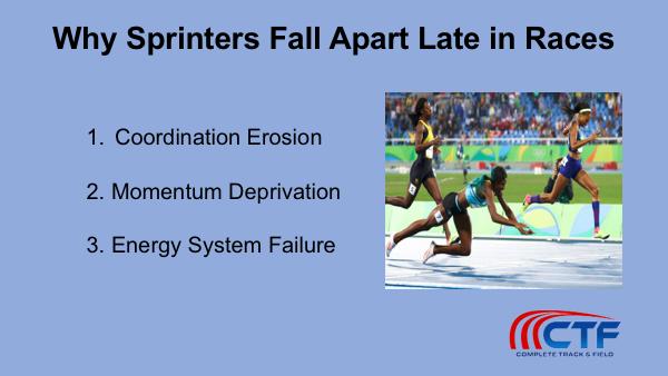 sprinters fall apart