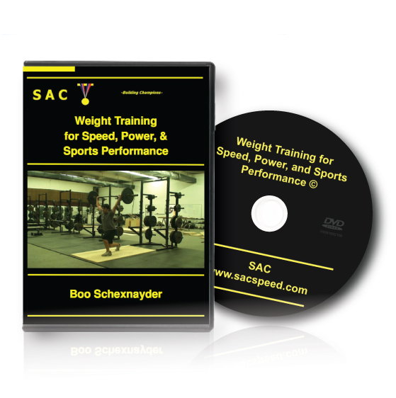 Boo Schexnayder's Weight Training for Speed Power and Sports Performance DVD