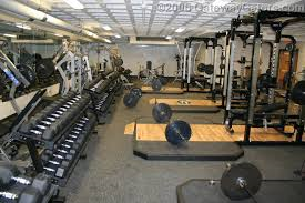 My weight room is a privilege - invite only!