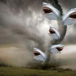 We will train through a sharknado.