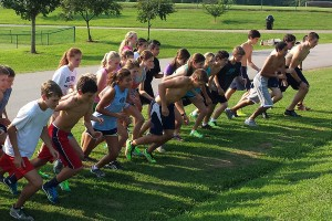 CTF-cross country training