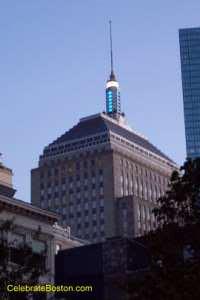 Boston's Berkeley Building (aka the old John Hancock Bldg.)