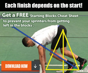 Latif Thomas - get a faster start out of the blocks
